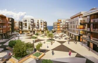 Nordecon ja Pro Kapital tähistasid Kalaranna Kvartalis 8 hoone sarikapidu