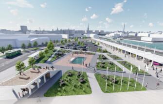Nordecon asub välja ehitama Tallinna Sadama D-terminali esist ala