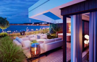 Kadriorgu mere äärde rajatavad luksuslikud korterelamud said nurgakivi