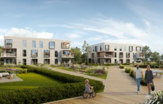 Invego rajab Tallinnasse mereäärse Luccaranna elamurajooni