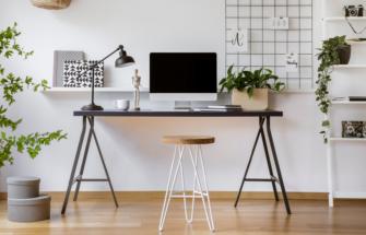 Kodukontori mööbel – 4 lihtsat nippi, mida jälgida