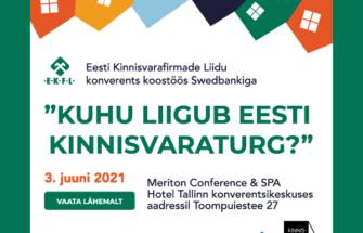 """Kutse EKFL konverentsile """"Kuhu liigub Eesti kinnisvaraturg?"""""""